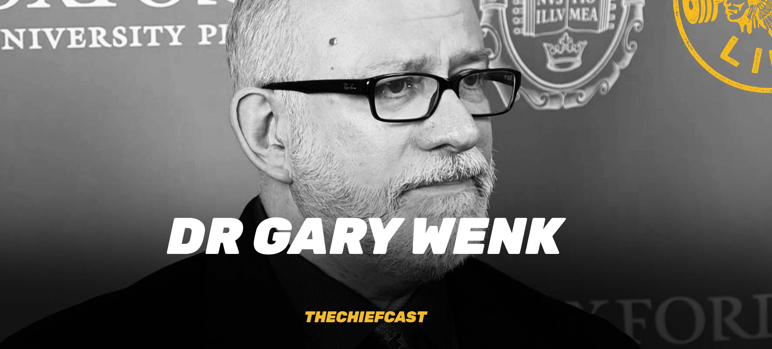 #107 – Your Brain On Food – Dr Gary Wenk