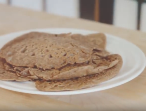 Buck Wheat Vegan Pancake