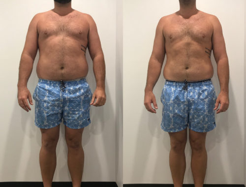 Damo's weight loss transformation